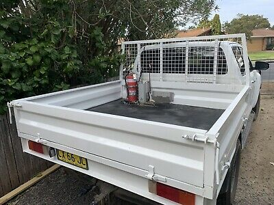 AU1000 • Buy DUAL CAB TRAY STEEL UTE TRAY White TRAY TOYOTA HILUX...