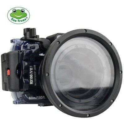 AU289 • Buy Seafrogs 60m/195ft Waterproof Camera Diving Housing Case For Sony RX100 VII M7