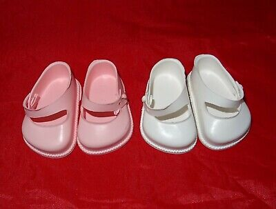 Cinderella  Doll Strap  Shoes, Size 1 ,White Or Pink  • 4.75£