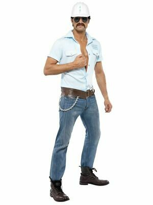 YMCA Village People Construction Worker Fancy Dress Costume Pride Stag Fun New • 39.95£