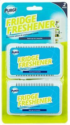 🔥2x Fridge Freshener Eliminate Odour Kitchen Air Remove Smell Clean Fresh Scent • 2.59£