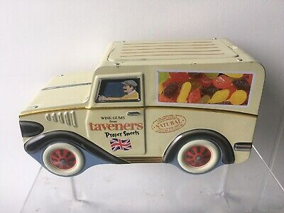 Taverners Wine Gums Van Tin  (Empty) With Fitting Lid. • 20£