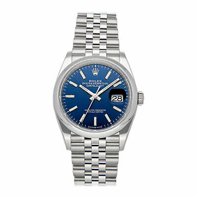 $ CDN10625.97 • Buy Rolex Datejust Auto 36mm Steel Mens Jubilee Bracelet Watch 126200