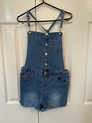 Girls Dungarees Age 11-12 • 0.50£
