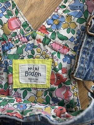 Girls Boden Dungarees Age 5-6 • 8.50£