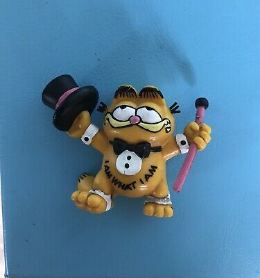 "Vintage Garfield Bully  Figure ""I Am What I Am"" 1978-81 • 2.20£"