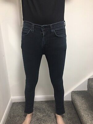 Levis Jeans Dark Blue Wash 519 W32 L32 • 10£