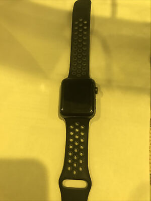 $ CDN303.93 • Buy Apple Watch Nike+ 42mm Space Gray Aluminium Case With Anthracite/Black Nike...