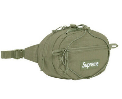 $ CDN177.61 • Buy Supreme Waist Bag Olive Fw20 Os (in Hand) Brand New 100% Authentic, Fast Ship