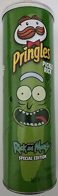 £10.89 • Buy New Special Edition Pringles Rick And Morty Pickle Rick Potato Chips 5.5 Oz