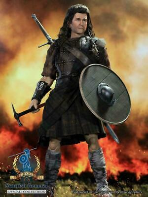 £157.83 • Buy Pangaea Toy 1/6 Scottish General William Wallace PG05 War Painted 12 Male Figure