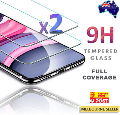 AU5.59 • Buy For Apple IPhone X Plus XS Max XR 11 Pro Tempered Glass Screen Protector Guard