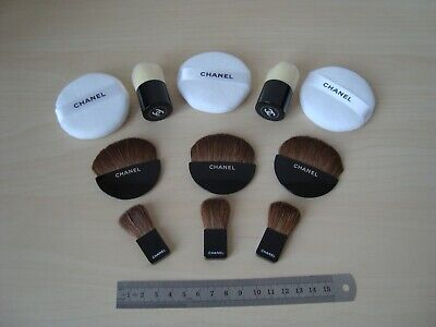 Authentic  CHANEL  Beaute Brushes Set Makeup Tools  For Powder New  • 27.91£