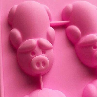 £1.69 • Buy 12 Cavity Pigs Silicone Mold Chocolate Cookie Mould Baking Ice Cube Jelly Cake