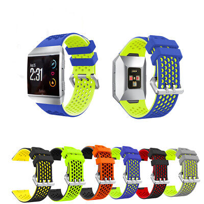 AU8.75 • Buy *NEW*Fitbit Ionic Wrist Watch Strap Silicon Sport Fitness Band Replacement Belt