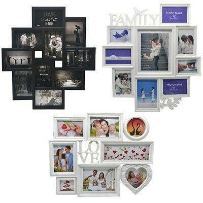 £12.99 • Buy 10 12 Hanging Modern 12 Multi Photo Family Picture Frames & Wall Decoration New