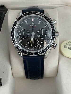 Gents Omega Speedmaster Chronograph Watch Deployment Box Excellent Overall • 2,750£