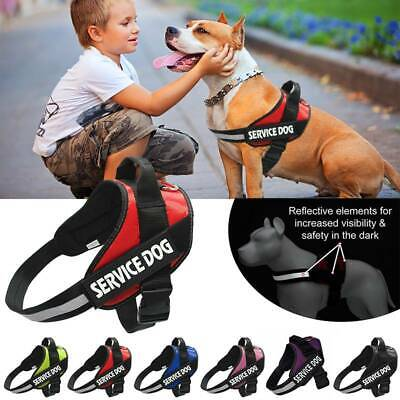 AU20.14 • Buy No-pull Dog Harness Pet Puppy Large Dog Vest Adjustable Padded Handle XS-XXL