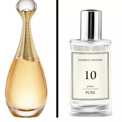 Women's 50ml FM 10 Pure Collection Inspired By Christian Dior J'adore • 15£