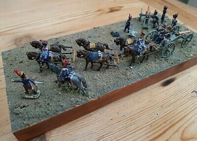 1/72 Scale French Guard Horse Artillery Diorama- NAPOLEONIC By Zvezda • 15£