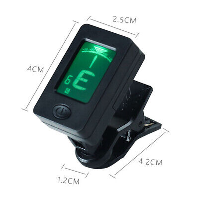 AU5.66 • Buy Chromatic Guitar Tuner Ukulele Violin Banjo Bass LCD Electronic Display Clip On