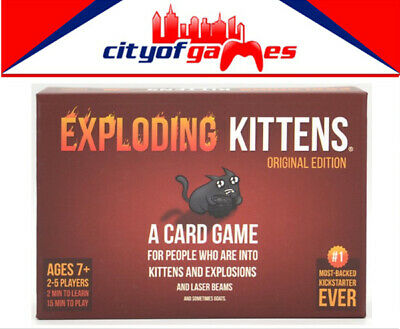 AU40.95 • Buy Exploding Kittens Original Edition Card Game New