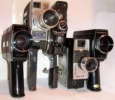 VINTAGE 8 Mm CINE CAMERAS And ACCESSORIES  Click SELECT To View INDIVIDUAL Items • 5£
