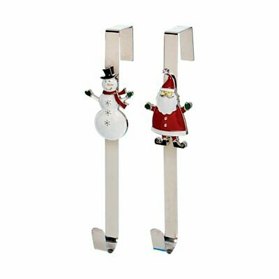 Metal Snowman Design Door Hanger For Christmas Wreaths • 12.99£