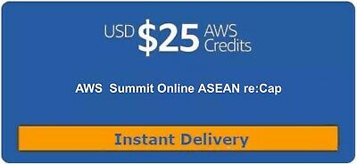 $ CDN13.94 • Buy $25 AWS Promo Credit Code (Only 1 Code Per AWS Account). Event: Oct 2020