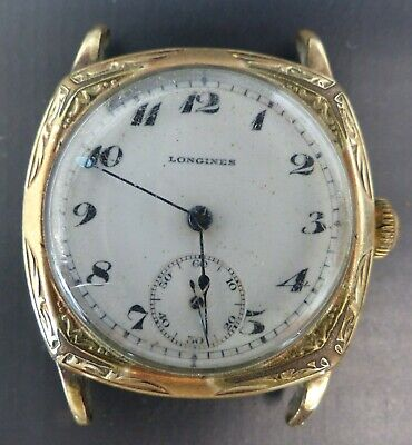 $ CDN115.86 • Buy Vintage Longines 15 Jewels Gold Filled Wind-up Mens Watch