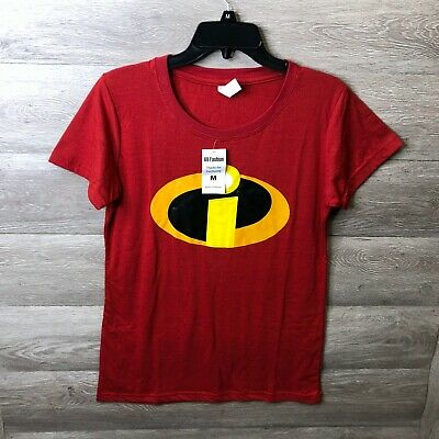 Decrum Womens Medium The Incredibles I Red T Shirt NEW • 7.15£