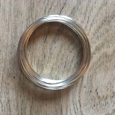 Silver Plated Memory Wire/bracelet 30 Turns (small Child) Jewellery Making 2.25  • 1.65£