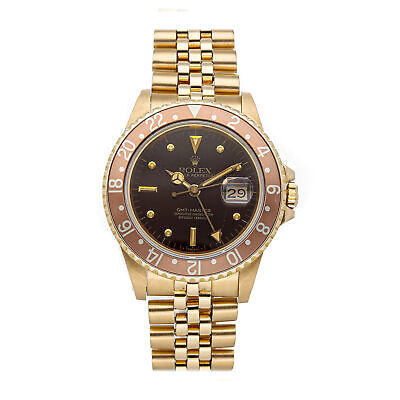 $ CDN32970.20 • Buy Rolex GMT-Master 40mm Automatic Yellow Gold Brown Dial Mens Watch Bracelet 16758