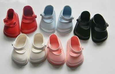 Cinderella  Doll Shoes Strap, Size 03  White, Red, Pink, Blue Or Black • 4.75£