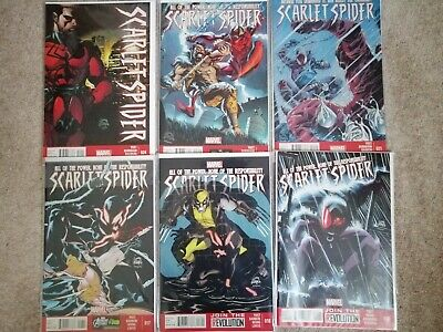 Marvel Comics Scarlet Spider (Kane Parker) 11 Issues • 3.99£