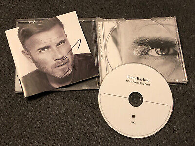 Gary Barlow - Signed Cd  - Since I Saw You Last • 26£