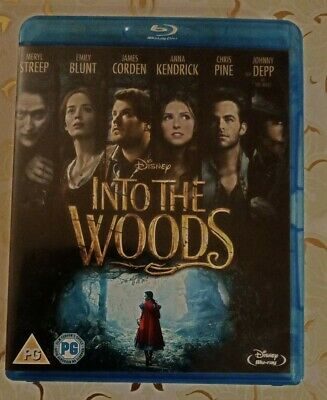 £3.40 • Buy Into The Woods Blu-Ray