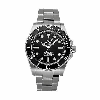 $ CDN20650.47 • Buy Rolex Submariner No Date Auto 41mm Steel Mens Oyster Bracelet Watch 124060