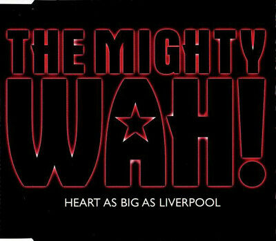 Pete Wylie The Mighty Wah! Heart As Big As Liverpool Rare Cd 2000 • 11.99£