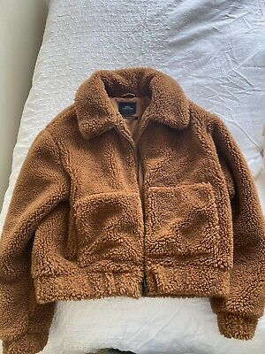 AU69.99 • Buy Urban Outfitters Cropped Teddy Jacket XS