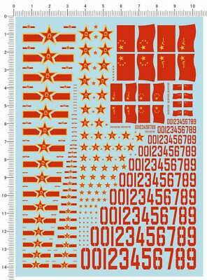 £4.59 • Buy Water Slide Decals Different Scales PLA Insignia Number (388) For Model Kits