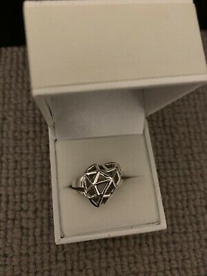 Tiffany And Co Heart Ring. Size Q, 57.6mm • 35£