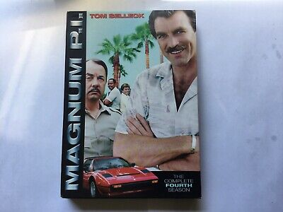 Magnum P. I. ( Tom Selleck) -the Complete 4th Season ( Dvd Box Set) • 2.99£
