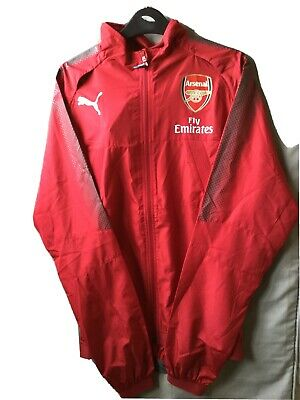 Arsenal Shell Jacket Puma Thermo-R Windcell BNWT M 2017/18 • 10£