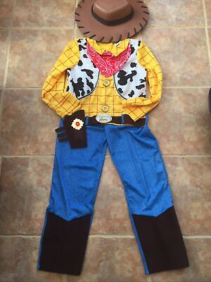 Disney Woody Toy Story Fancy Dress Outfit Age 9-10 Years. Childs Fancy Dress • 6£