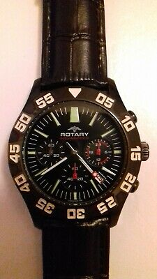 Rotary Aquaspeed Chronograph Watch • 40£