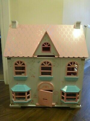 £50 • Buy Rosebud Dolls House With Furniture And Play People. Excellent Condition.