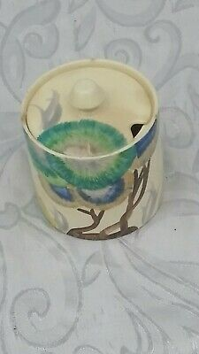 Clarice Cliff Honey Pot Very Old A Bit Stained Around The Rim  • 7.48£