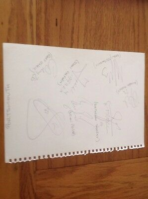 Portsmouth FC Signed Autographed A4 Sheet • 5.99£