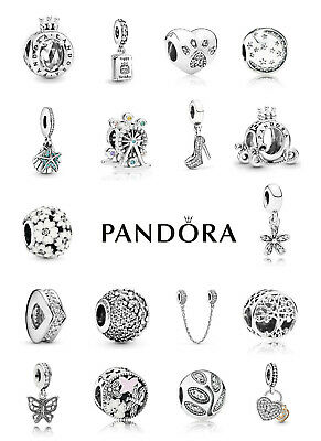 £19.99 • Buy New Genuine Silver Pandora S925 ALE Sparkling Charm With Free Pouch